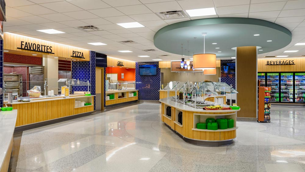 Food options & cafeteria hours   Regions Hospital