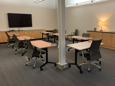 Collaborative space, new MSP Communications office