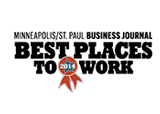 Best Places to Work 2015 award Minneaplis/St. Paul Business Journal