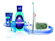 picture of various oral hygeine products