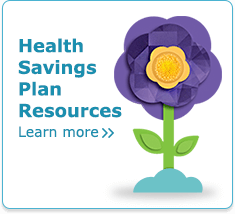 Andersen Health Savings Plan - illustration of a flower on a white background