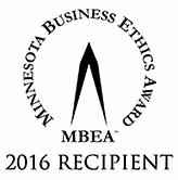 MN Business Ethics Award logo