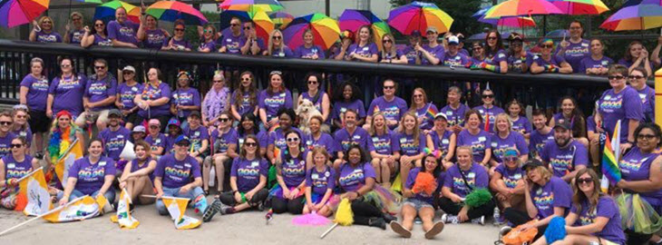 Banner: HealthPartners at Pride
