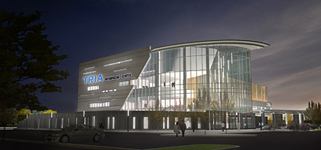 Illistration of the new TRIA Woodbury Center