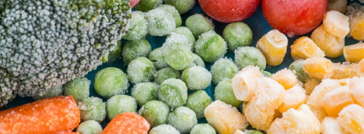 Image: Frozen veggies