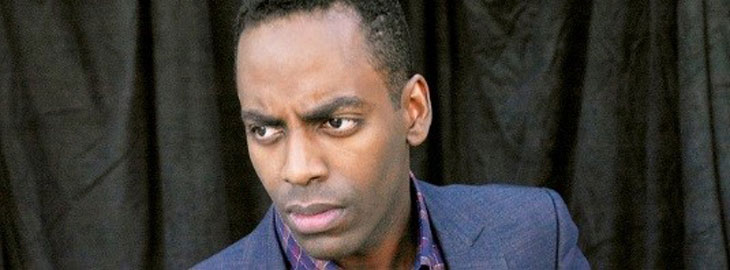 Banner: MGH blog - Baron Vaughn on when he discovered depression isn't just for white people