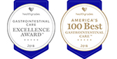 'America's 100 Best - Gastrointestinal Care' and 'Colorectal Surgeries - Five-star Recipient' awards 2017