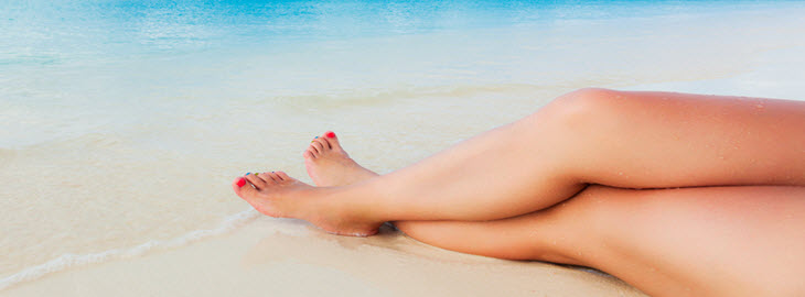 Banner: Health blog -Should I get a 'base tan' before my beach vacation?
