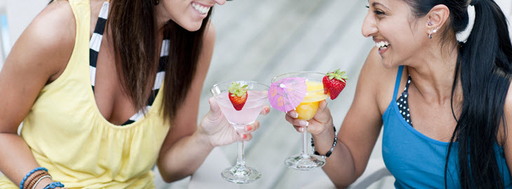 "Banner: Health blog - Memorial Day ""mocktails"" for expecting moms"