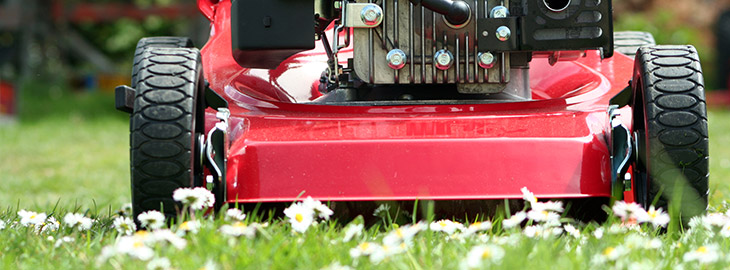 Banner: Health blog - Lawnmower safety advice that could prevent tragic accidents