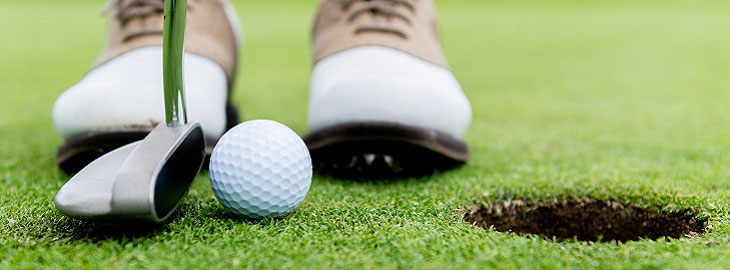 Banner: Health blog - Tips for golfing better this season