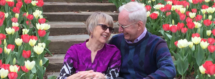 Image: MGH blog - Seeing the human side of memory loss - Marv and Elaine pictured