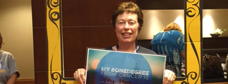 Image: MGH blog - HealthPartners Institute oncology nurse devotes life to helping people with cancer - Ann Deshler pictured