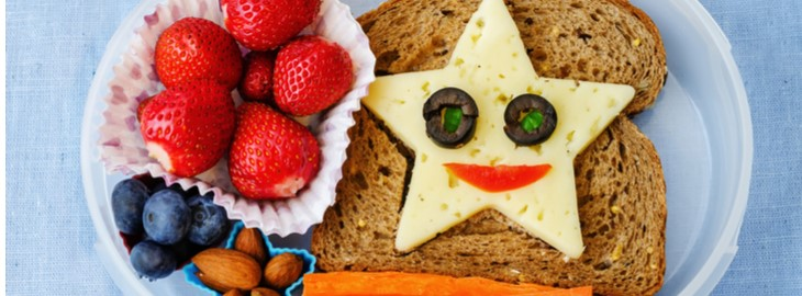 Banner: Health blog - Simple tips for packing your child a brain-boosting school lunch