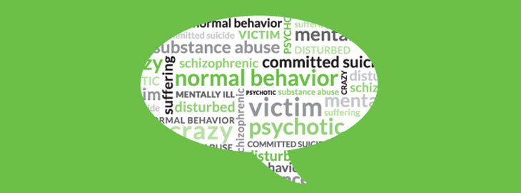 Banner: Health blog - Mental illnesses: Terms to use. Terms to avoide