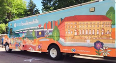 St. Paul Public Library Bookmobile builds healthy children and healthy minds in St. Paul, MN