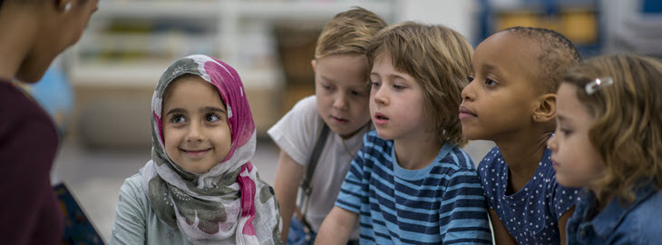 Banner: Health blog - How to prepare your young child for differences, and teach them to embrace diversity