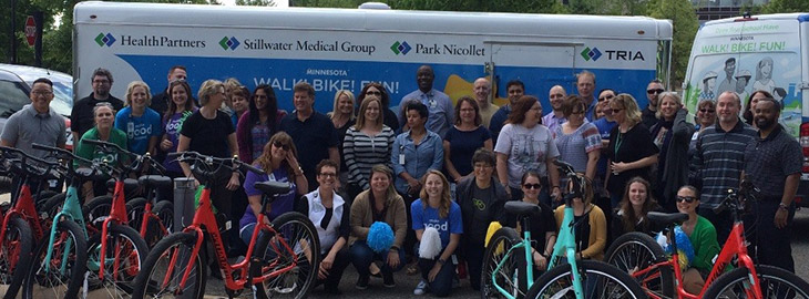 Banner: MGH blog - A bicycle built…for YOU!