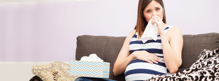 Banner: Health blog - Is it safe to get a flu shot while pregnant?