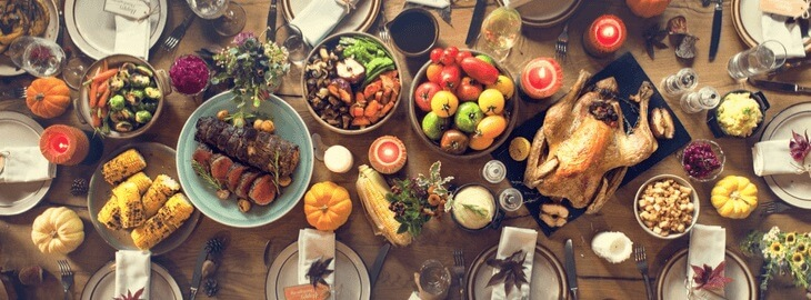 Banner: Health blog - Better-for-you Thanksgiving Recipes