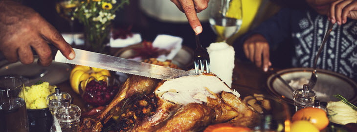 Banner: Health blog - 5 Tips to not overeating this Thanksgiving