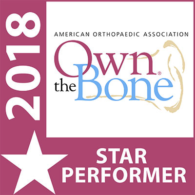 Image: Health blog - 2018 Own the Bone logo