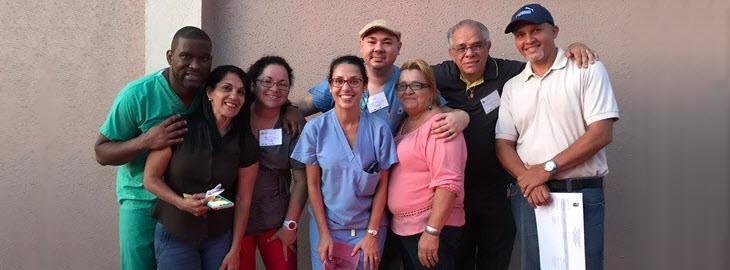 Banner: MGH blog - Park Nicollet doctor returns to Puerto Rico to help victims of Hurricane Maria