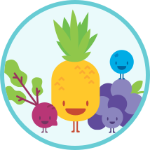 image: PowerUp Teacher - weekly fruit and veggie tracker icon