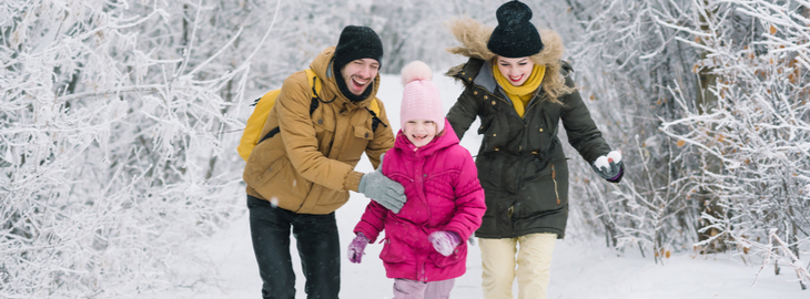 banner: The 4 best ways for your family to enjoy winter