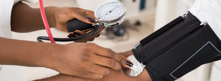 Blog Banner:  What are the numbers for high blood pressure, what do they mean and how can you lower them?
