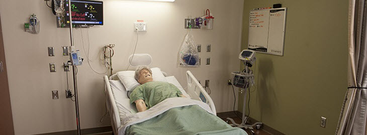 MGH Blog Banner: How mannequins, actors and role-play are improving care at Park Nicollet