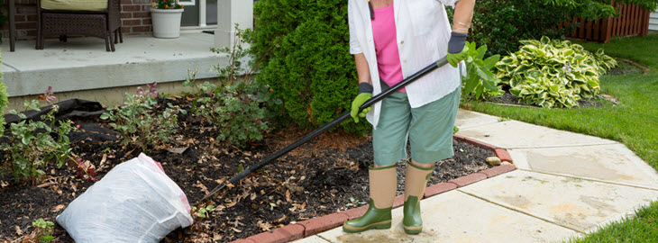 Banner: Health blog - Yard work giving you back pain?